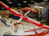 R/C Sailplane<br>First<br>TOM BOICE<br>PIERCE PARAMOUNT<br>XENIA,OH USA
