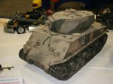 Land Vehicle<br>First<br>ALEXANDER WEISS<br>M4A3E8 EASYEIGHT SHERMAN<br>THOMPSON,OH USA