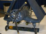 Military Sport Scale Plane<br>First<br>DOUG WOLFE<br>F4U-Corsair<br>W. BLOMFIELD,MI USA