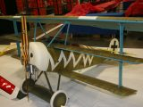 Military Sport Scale Plane<br>Second<br>Charlie Thomas<br>Folker DR1 1/3 Scale<br>Dearborn Heights,MI USA