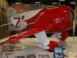Designer Scale Plane<br>Second<br>ED ANDREWS<br>Gee Bee R2<br>PITTSBURGH,PA USA